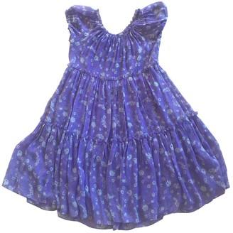 Ulla Johnson Purple Silk Dresses
