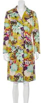 Etro Abstract Floral Short Coat