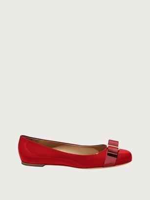Salvatore Ferragamo Women Varina ballet flat Red Size 4.5