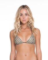 Luli Fama Women's Desert Babe Sliding Triangle Bikini Top M