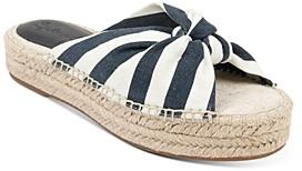 Splendid Women's Albany Platform Espadrille Slide Sandals
