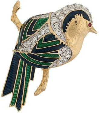 Susan Caplan Vintage D'Orlan jay bird brooch