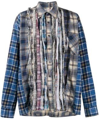 Needles Frayed Panel Shirt