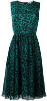Borbonese leopard print dress