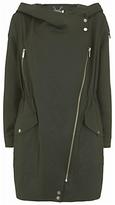 Mint Velvet Lightweight Parka Coat, Dark Green