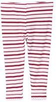 Kickee Pants Print Scalloped Legging in Girl Animal Stripe (Baby & Toddler Girls)