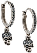 Alexander McQueen skull drop earrings