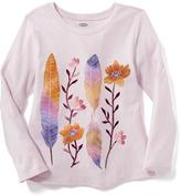 Old Navy Long & Lean Graphic Tee for Toddler