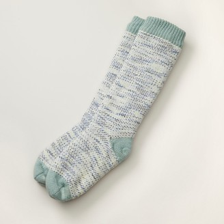 Indigo Classic Marl Reading Socks Dusty Sage