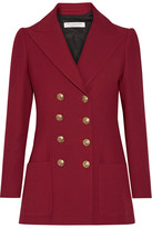 Philosophy di Lorenzo Serafini - Double-breasted Twill Blazer - Claret