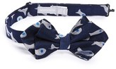 Nordstrom Boy's 'Fish Family' Silk Bow Tie