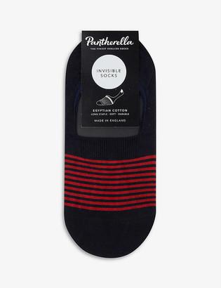 Pantherella Sienna striped cotton-blend socks