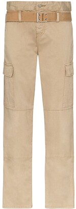 RtA Sallinger high-waist cargo trousers