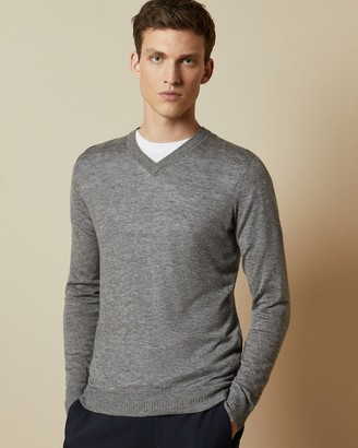 Ted Baker Knitted V Neck Jumper