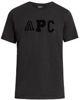 A.p.c. College Cotton-jersey T-shirt