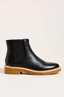 Botkier Shearling-Lined Chelsea Boots