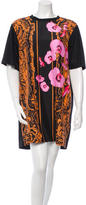 Josh Goot Printed Silk T-Shirt Dress