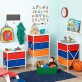 RiverRidge Kids Sort and Store Kids 2-Bin Organizer in Red and Blue