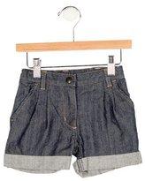 Petit Bateau Boys' Cuffed Denim Shorts