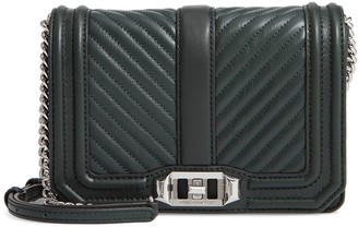 Rebecca Minkoff Chevron Quilted Leather Love Crossbody Bag