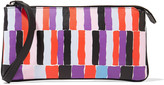 Emilio Pucci Printed textured-leather pouch