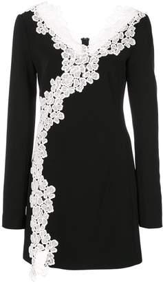 David Koma lace embellished dress