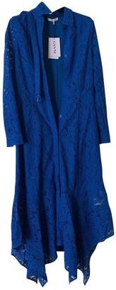 Ganni Blue Lace Dress for Women
