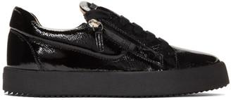 Giuseppe Zanotti Black Rullino Addy Sneakers
