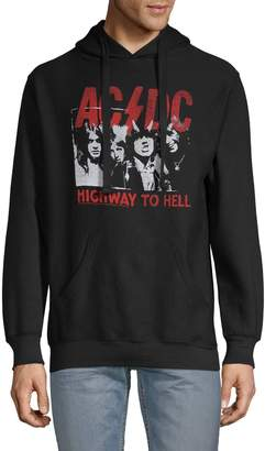 Body Rags Clothing Co AC/DC Legends Never Die Graphic Hoodie