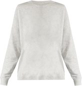 Vince Round-neck cotton-jersey sweatshirt