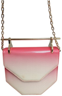 M2Malletier Pink Patent leather Handbags