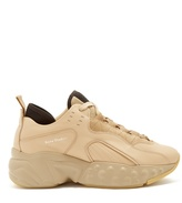 Acne Studios Manhattan low-top leather trainers