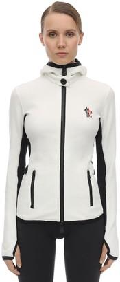 Moncler Stretch Polar Zip-up Jacket