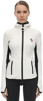 MONCLER GRENOBLE Stretch Polar Zip-up Jacket