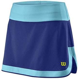 Wilson W UWII Perf 12.5 Skirt - Skirt, Women, Womens, Mazarine Blue/Blue Atoll, S