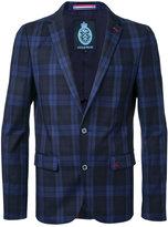 GUILD PRIME checked blazer - men - Cotton/Polyurethane - 1