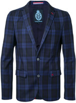 GUILD PRIME checked blazer