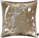 Aviva Stanoff Two Tone Mermaid Sequin Cushion - Citrine - 50x50cm