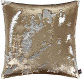 Aviva Stanoff Two Tone Mermaid Sequin Cushion