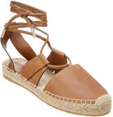 Jimmy Choo Darby Leather Lace-Up Espadrille