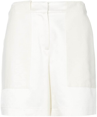 ZEUS + DIONE High-Waisted Panelled Shorts
