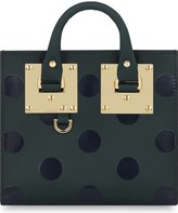 Sophie Hulme 'Albion' Polka Dot Leather Crossbody Bag