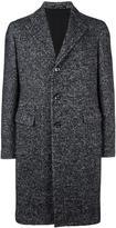 Tagliatore classic buttoned coat - men - Cotton/Acrylic/Polyamide/Alpaca - 50