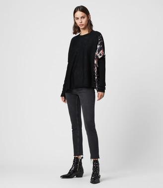 AllSaints Koko Wing Wrap Sweater