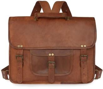 Vida Vida Vida Vintage Leather Backpack+Satchel