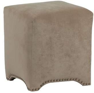Wrought Studio Winbush Cube Ottoman Wrought Studio Upholstery Color: Donna Coffee