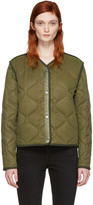 Rag & Bone Green Short Forest Liner Jacket