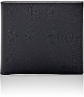 Prada Men's Coin-Pocket Billfold-BLACK