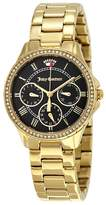 Juicy Couture Gwen Black Dial Gold-tone Ladies Watch