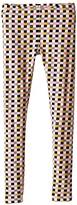 Fendi Checker Print Leggings (Little Kids)